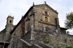 Church of Villafranca del Bierzo Leon Spain. The church of Santiago Apóstol is a Catholic parochial church located in Villafranca del Bierzo, in the region of Stock Image