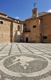 Church of Santiago Apostle, Ciudad Real, Spain Royalty Free Stock Images