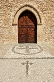 Church of Santiago Apostle, Ciudad Real, Spain Royalty Free Stock Image