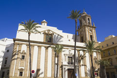 Church of Santiago. Cathedral Square Stock Images