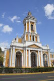 Church of the Divine Providence in Chile  Royalty Free Stock Photography