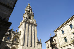Church in Santiago de Compostela Royalty Free Stock Photos