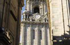 Church in Santiago de Compostela Royalty Free Stock Photo