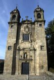The church,Santiago de Compostela. Spain Royalty Free Stock Photography