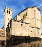 Church of Santiago el Real in Logrono Royalty Free Stock Photo
