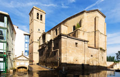 Church of Santiago el Real in Logrono Stock Photo