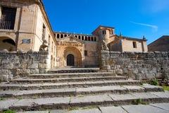 Church of Santillana del Mar Stock Photos
