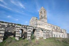 Church of Santissima Trinità di Saccargia. Church of Santissima Trinità di Saccargia. Codrongianos (Sardinia - Italy Stock Photo