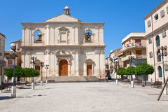 Church of the Santissimo Crocifisso in Noto Royalty Free Stock Photography