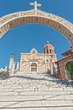 The church of Santo Cristo del Ojo de Agua in Saltillo, Mexico Stock Image