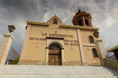 The church of Santo Cristo del Ojo de Agua in Saltillo, Mexico Stock Photo