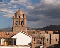 Church of Santo Domingo Stock Images