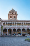 Church of Santo Domingo, Coricancha,Cusco, Peru,South America. Build on ruins of  Incan Temple of the Sun Stock Images