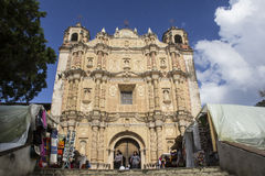 Church of Santo Domingo Stock Photo