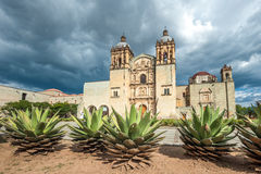 Church of Santo Domingo de Guzman in Oaxaca, Mexico Royalty Free Stock Image