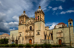 Church of Santo Domingo de Guzman - Oaxaca, Mexico Stock Images