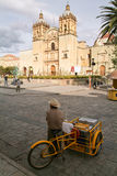 Church of Santo Domingo de Guzman on Oaxaca Stock Image
