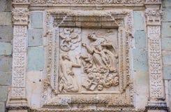 The church of Santo Domingo de Guzman in Oaxaca Mexico Royalty Free Stock Photo