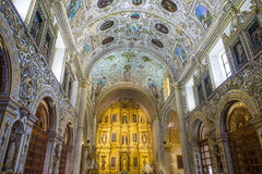 The church of Santo Domingo de Guzman in Oaxaca Mexico Stock Photos