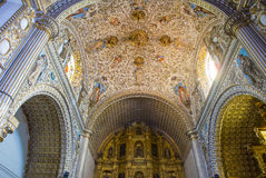 The church of Santo Domingo de Guzman in Oaxaca Mexico Stock Photo