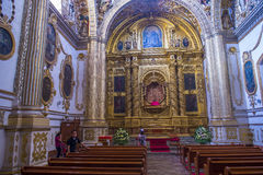 The church of Santo Domingo de Guzman in Oaxaca Mexico Stock Photography