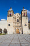 The church of Santo Domingo de Guzman in Oaxaca Mexico Stock Image