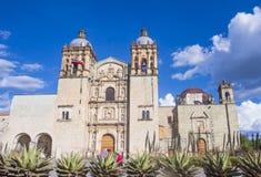 The church of Santo Domingo de Guzman in Oaxaca Mexico Royalty Free Stock Photos