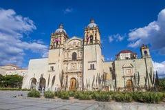 The church of Santo Domingo de Guzman in Oaxaca Mexico Royalty Free Stock Images