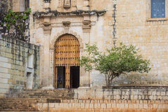 The church of Santo Domingo de Guzman in Oaxaca Mexico Stock Image