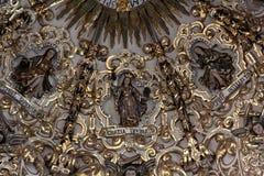 Santo Domingo Church, Puebla, Mexico Stock Photos