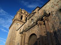 Church of Santo Domingo Royalty Free Stock Images
