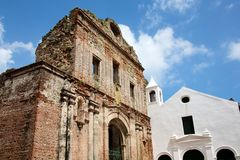 Church of Santo Domingo Stock Photos