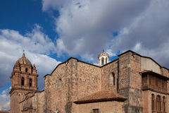 Church of Santo Domingo Royalty Free Stock Photos