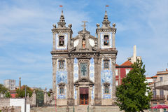 Church of Santo Ildefonso in Porto Royalty Free Stock Photography