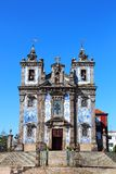 Church of Santo Ildefonso, Porto, Portugal Stock Photos