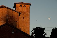 Church Santo Stefano Bologna Italy Stock Image