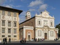 Church of Santo Stefano Knights in Piazza dei Cavalieri, Pisa. Tuscany, Italy Stock Photos