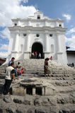 Church of Santo Tomas at Chichicastenango Stock Photography
