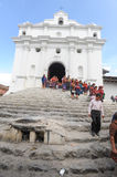 Church of Santo Tomas at Chichicastenango Stock Images