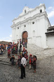 Church of Santo Tomas at Chichicastenango Royalty Free Stock Images
