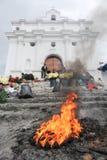 Church of Santo Tomas at Chichicastenango Royalty Free Stock Images