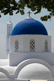 A Church in Santorini Stock Image