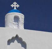A Church in Santorini Royalty Free Stock Photos