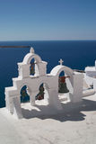 Church in Santorini Stock Images