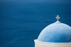 Church in Santorini Stock Photos