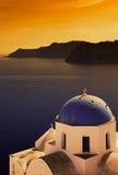 Church in Santorini Stock Photo