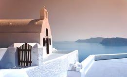Church in Santorini Stock Photography