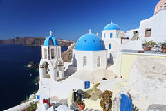 Church in Santorini, Greece Stock Photography