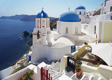 Church in Santorini, Greece Stock Images