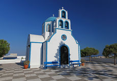 Church in Santorini, Greece Royalty Free Stock Photo